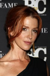 Poppy Montgomery arrives for the Broadcasting & Cable 21st Annual Hall of Fame in New York