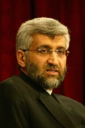 Iran's new chief nuclear negotiator Saeed Jalil Holds a Press conference