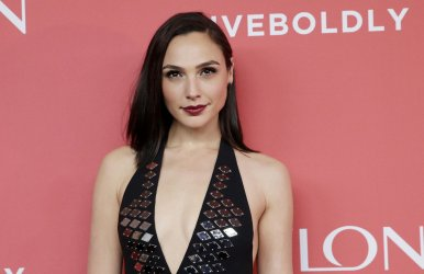 Gal Gadot arrives at Revlon Live Boldly Launch in New York