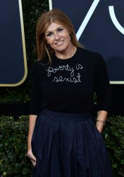 Connie Britton attends the 75th annual Golden Globe Awards in Beverly Hills