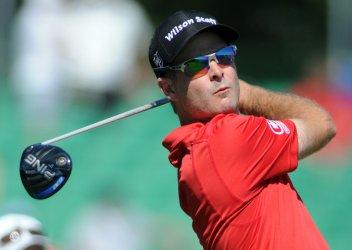 Kevin Streelman plays at the U.S. Open Golf Champion