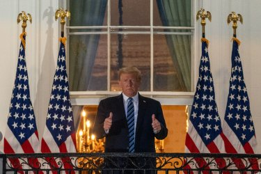 Trump returns White House after COVID hospital treatment