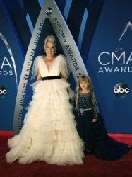 Pink arrives for the 2017 CMA Awards in Nashville