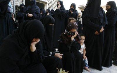 Funeral of Woman Killed in an Israeli Military Strike in Gaza