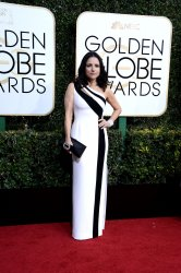 Julia Louis-Dreyfus attends the 74th annual Golden Globe Awards in Beverly Hills