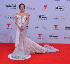 Carla Medina attends the Billboard Latin Music Awards in Las Vegas