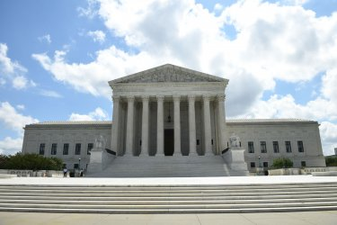 U.S. Supreme Court rules on President Trump's taxes in Washington, DC