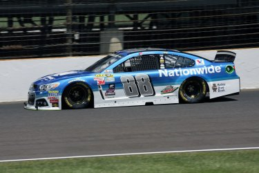 Practice for the Brickyard 400 in Indianapolis