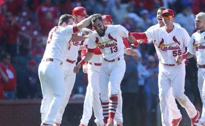 St. Louis Cardinals Matt Carpenter hits game winning grand slam home run