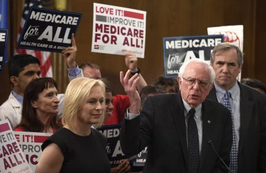 Sen. Bernie Sanders introduces Medicare for All Bill on Capitol Hill