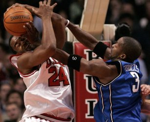 NBA CHICAGO BULLS VS ORLANDO MAGIC
