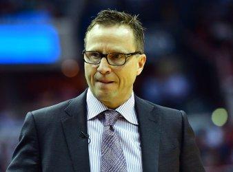 Washington Wizards head coach Scott Brooks