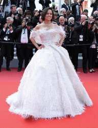 Michelle Rodriguez attends the Cannes Film Festival