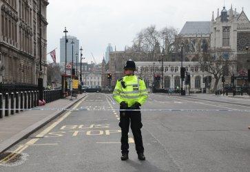 Police patrol Central London after Terrorist attack