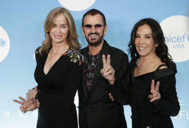 Ringo Starr and Olivia Harrison at UNICEF Snowflake Ball