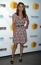 "Giada De Laurentiis arrives for the Cosmpolitan Magazine's ""Practice Safe Sun"" Awards in New York"