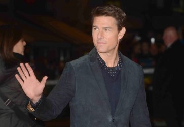 """Tom Cruise attends The World premiere of """"Jack Reacher"""" in London."""