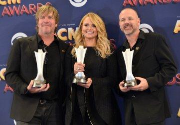 Jack Ingram, Miranda Labmbert and Jon Randall win awards at the 53rd annual Academy of Country Music Awards in Las Vegas