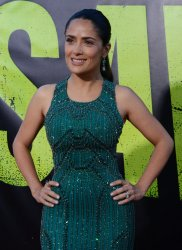 "Salma Hayek attends the premiere of ""Savages"" in Los Angeles"