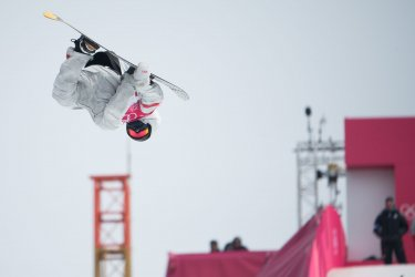 Men's Big Air Snowboard final at Pyeongchang 2018 Winter Olympics