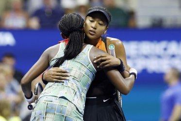 Coco Gauff breaks down in tears at the US Open