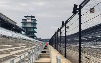 Indianapolis Motor Speedway Awaits the Postponed Indy 500
