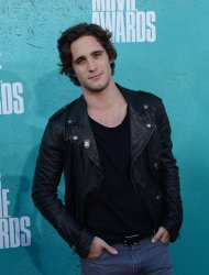 Diego Boneta arrives at the 2012 MTV Movie Awards in Universal City, California