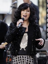 Cher performs on the NBC Today Show