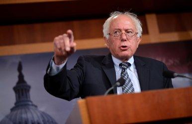 Sen. Bernie Sanders speaks on Social Security in Washington