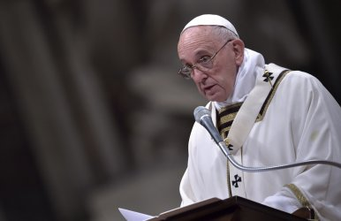 Pope Francis celebrates Christmas Eve Mass in Vatican City
