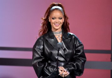 Rihanna onstage during the 19th annual BET Awards in Los Angeles