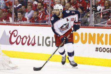 NHL Playoffs: Columbus Blue Jackets at Washington Capitals