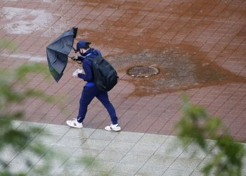 Hurricane Ida at the 2021 US Open in New York
