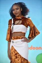 Riele Downs attends Kids' Choice Awards 2019