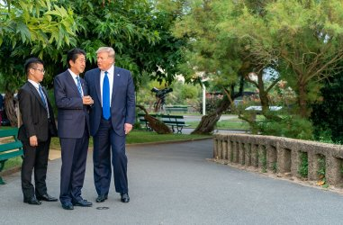 President Donald Trump Attends the G7 Summit in Biarritz, France