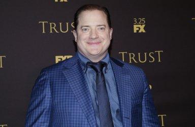 Brendan Fraser arrives at 'Trust' New York Screening