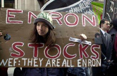 Anti World Economic Forum protests in New York City