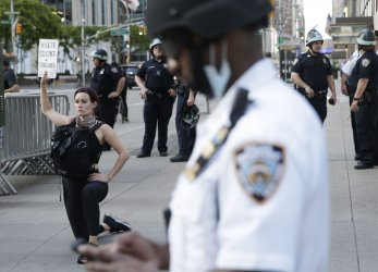 George Floyd Death Protests Continue In New York