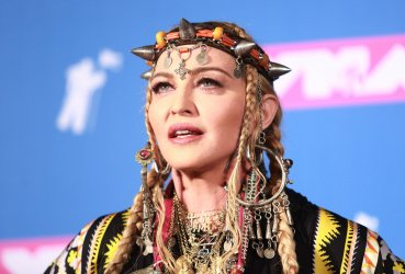 Madonna at the MTV Video Music Awards in New York