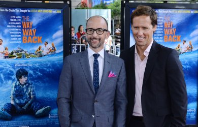"""Jim Rash and Nat Faxon attend """"The Way, Way Back"""" premiere in Los Angeles"""