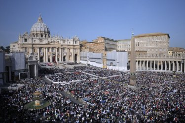Seven new saints named by Pope Benedict XVI in the Vatican