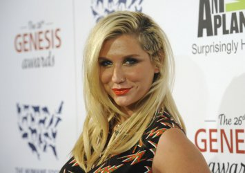 KeSha attends the 26th Genesis Awards in Beverly Hills