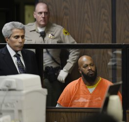 "Marion ""Suge"" Knight pleads not guilty to charges of murder and attempted murder in Compton, California"