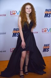 Francesca Capaldi attends Race to Erase MS gala in Beverly Hills