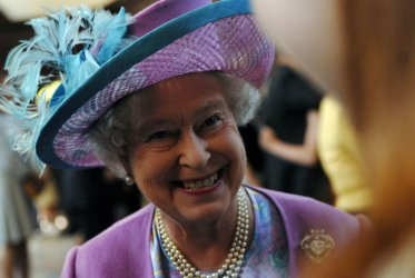 BRITAIN'S QUEEN ELIZABETH II VISITS WILLIAM AND MARY COLLEGE IN VIRGINIA