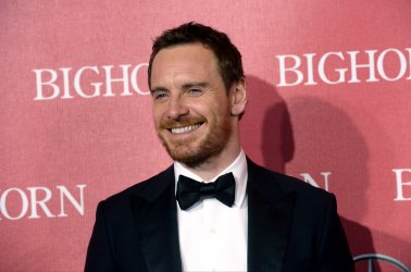 Michael Fassbender attends the Palm Springs International Film Festival in Palm Springs, California