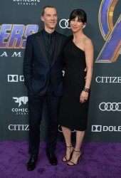 """Benedict Cumberbatch and Sophie Hunter attend """"Avengers: Endgame"""" premiere in Los Angeles"""