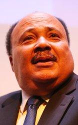 Martin Luther King III speaks in St. Louis