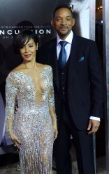 "Will Smith and Jada Pinkett Smith attend the ""Concussion"" screening in Los Angeles"