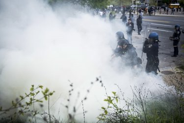 Freddy Gray Protest in Baltimore, Maryland